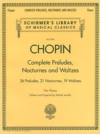 Schirmer's Library of Musical Classics presents Chopin